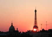 eiffel-sunset